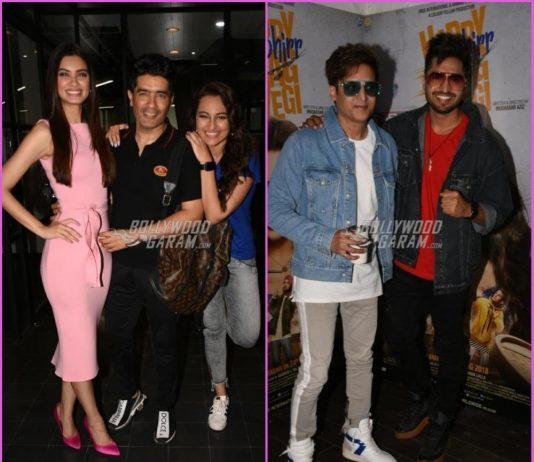 Lead actors promote Happy Phirr Bhag Jayegi