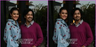Kajol and Riddhi Sen promote Helicopter Eela in Mumbai