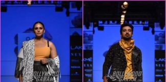 Lakme Fashion Week Winter/Festive 2018 – Saqib Saleem and Huma Qureshi turn showstoppers for Two Point Two
