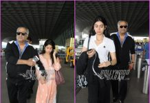 Boney Kapoor, Janhvi Kapoor and Khushi Kapoor leave for Delhi