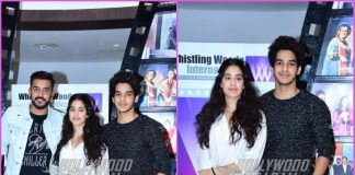 Janhvi Kapoor and Ishaan Khatter visit Whistling Woods together