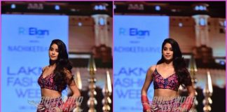 Lakme Fashion Week Winter/ Festive 2018 – Janhvi Kapoor turns showstopper for Nachiket Barve