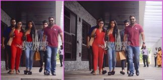 Ajay Devgn, Kajol and Nysa spend quality time over lunch