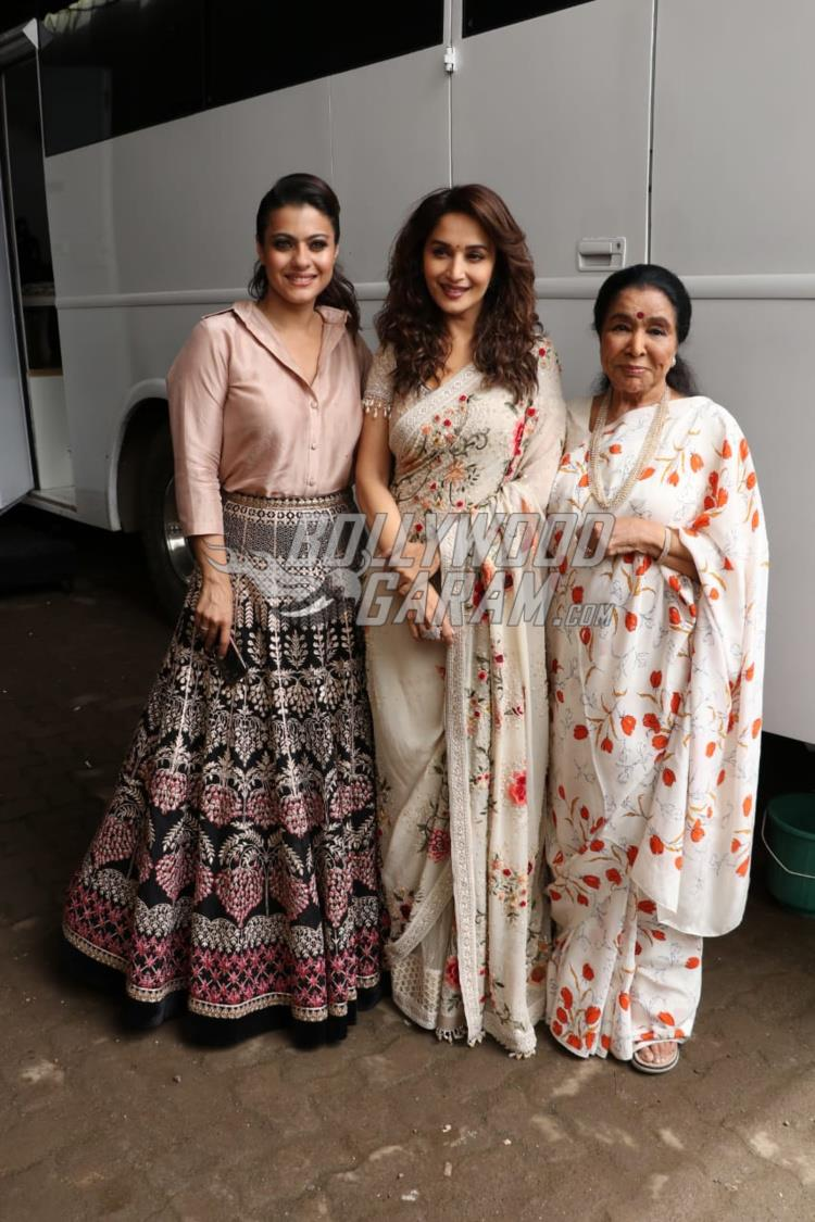 Kajol promotes Helicopter Eela on sets of Dance Deewane