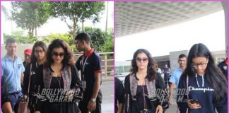 Kajol and daughter Nysa make a stylish appearance at airport