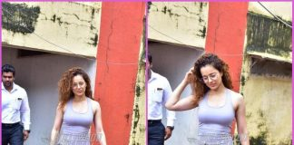 Kangana Ranaut stars preparing for Panga