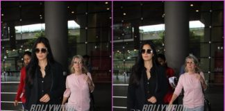 Katrina Kaif returns to India with mother Sussanne Turquotte