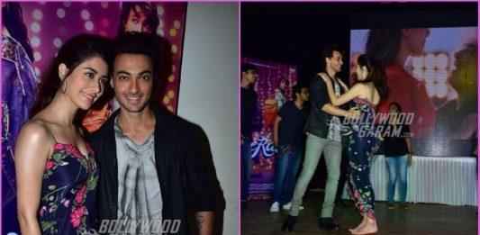 Aayush Sharma and Warina Hussain shake a leg at promotions of Loveratri