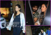 Shahid Kapoor and Mira Rajput step out for a dinner date