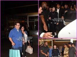 Nick Jonas arrives with parents in Mumbai