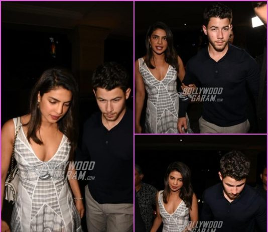 Priyanka Chopra and Nick Jonas dine together a day before engagement bash