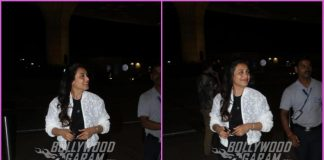 Rani Mukerji makes a trendy appearance at airport