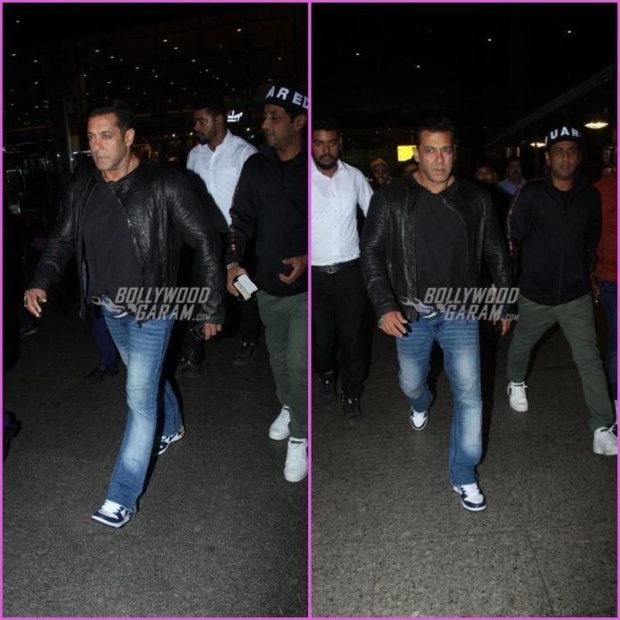Salman Khan airport
