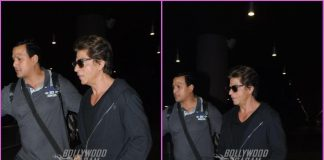 Shah Rukh Khan returns in style from Dubai