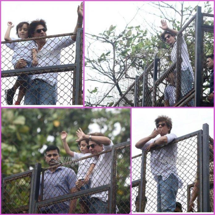 Shah Rukh Khan snapped