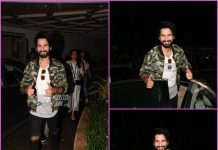 Shahid Kapoor on a casual outing in Mumbai