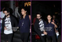 Shahid Kapoor and Mira Rajput enjoy a movie date together