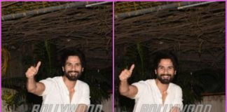 Shahid Kapoor looks visible happy and excited on casual outing