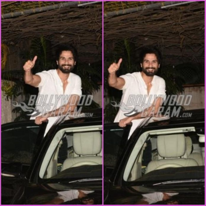 Shahid kapoor snapped