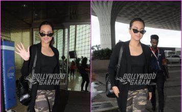 Sonakshi Sinha leaves for Delhi for promotions of Happy Phir Bhag Jayegi