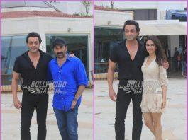 Sunny Deol, Bobby Deol and Kriti Kharbanda promote Yamla Pagla Deewana Phir Se
