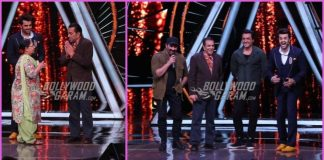 Dharmendra, Sunny Deol and Bobby Deol promote Yamla Pagla Deewana Phir Se on Indian Idol