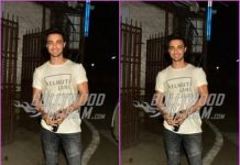 Aayush Sharma arrives for dubbing session