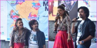Kajol and Riddhi Sen have fun at Helicopter Eela promotions in Mumbai