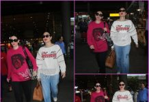 Kareena Kapoor and Karisma Kapoor return from Dubai