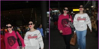 Kareena Kapoor and Karisma Kapoor return from Dubai