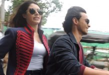 Aayush Sharma and Warina Hussain fined for driving without helmet at Vadodara