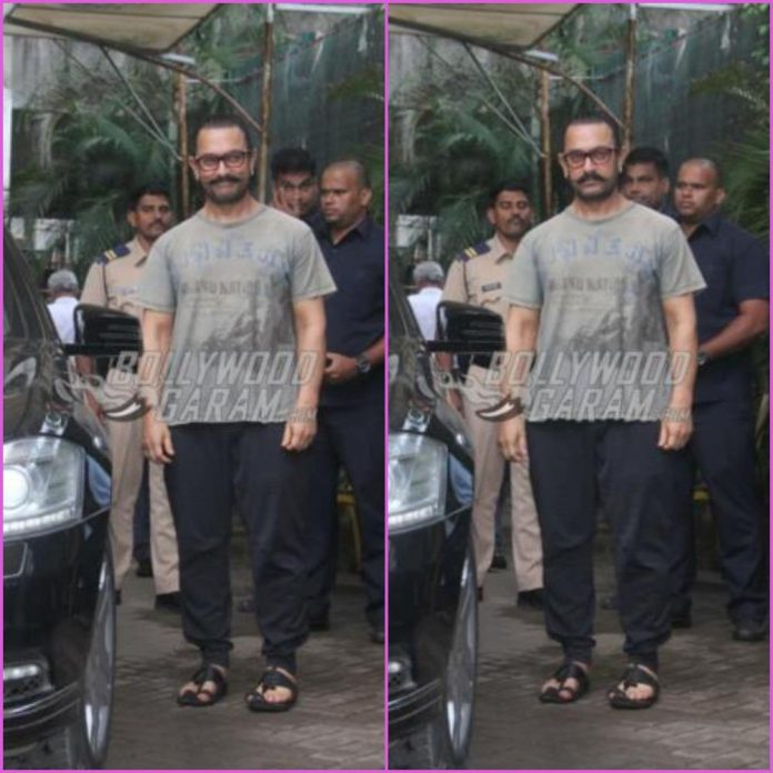 Aamir Khan spa