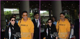 Akshay Kumar and Twinkle Khanna return from short getaway