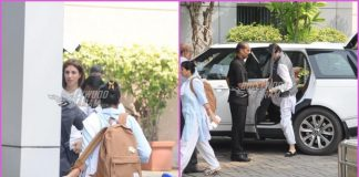 Amitabh Bachchan and Shweta Bachchan leave for Delhi together