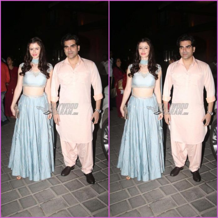 Arbaaz Khan and georgia