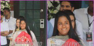 Arpita Khan celebrates Ganpati festival at her residence