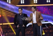 Shah Rukh Khan has fun with Salman Khan on Sets of Dus Ka Dum
