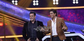 Shah Rukh Khan has fun with Salman Khan on Sets of Dus Ka Dum