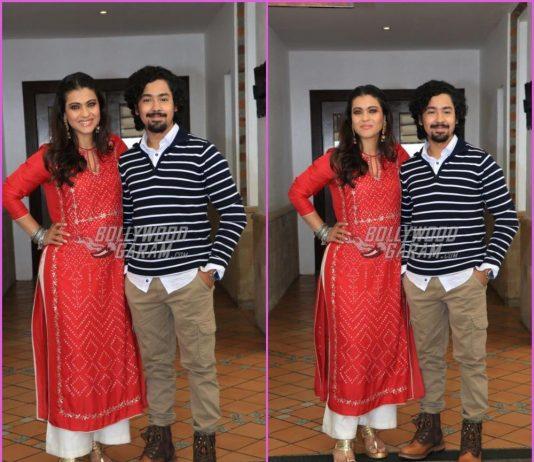 Kajol and Riddhi Sen promote Helicopter Eela together