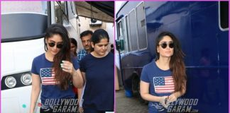 Kareena Kapoor makes trendy appearance at a popular studio