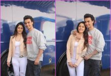 Warina Hussain and Aayush Sharma look great at promotions of Loveratri