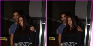 Neha Dhupia and Angad Bedi visit Soha Ali Khan and Kunal Kemmu at their residence