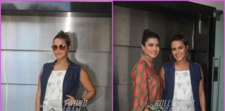 Neha Dhupia and Kajol record together for # No Filter Neha
