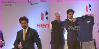Shah Rukh Khan encourages para-athletes at Delhi event