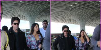 Shah Rukh Khan and Suhana Khan travel to London together