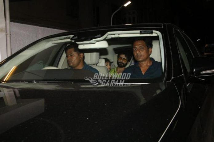 Shahid Kapoor snapped-4