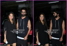 Shahid Kapoor arrives with Mira Rajput for screening of Batti Gul Meter Chalu