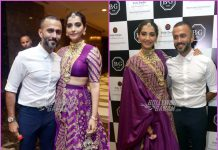 Sonam Kapoor and Anand Ahuja grace a Delhi based event