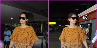 Sonam Kapoor makes a stylish exit from airport