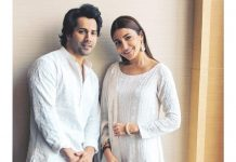 Varun Dhawan and Anushka Sharma seek blessings for Sui Dhaaga – Made in India in Lucknow